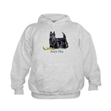 Scottish Terrier Holiday Dog Hoodie