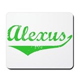 Alexus Vintage (Green) Mousepad