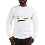 Vintage Kuwait Retro Long Sleeve T-Shirt