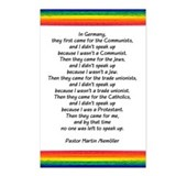 IN GERMANY, THEY FIRST CAME.. Postcards (Package o