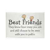Best friend Magnets