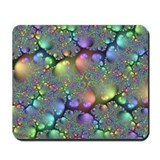 Metallic Stones Fractal Mousepad