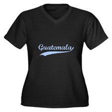 Vintage Guatemala Retro Women's Plus Size V-Neck D