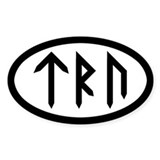 TRU Oval Decal
