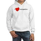 I love conjugation Jumper Hoody