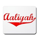 Aaliyah Vintage (Red) Mousepad