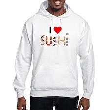 I Heart Sushi Hoodie