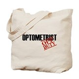 Off Duty Optometrist Tote Bag