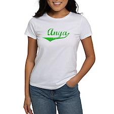 Anya Vintage (Green) Tee