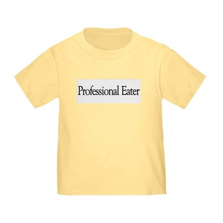 Professional Eater Toddler T-Shirt