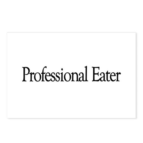 Professional Eater Postcards (Package of 8)
