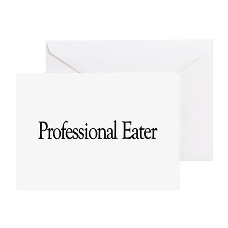 Professional Eater Greeting Card