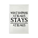 STAYS AT BLAKE'S Rectangle Magnet (10 pack)