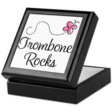 Trombone Rocks Keepsake Box