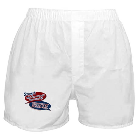 Stuart - What does mama say? Boxer Shorts