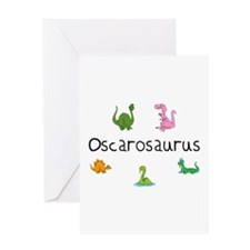 Oscarosaurus Greeting Card