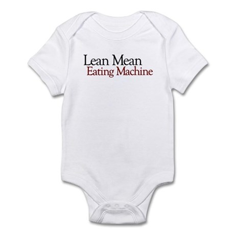 Lean Mean Eating Machine Infant Bodysuit