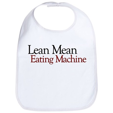 Lean Mean Eating Machine Bib