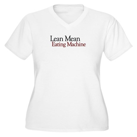 Lean Mean Eating Machine Women's Plus Size V-Neck
