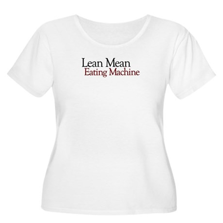 Lean Mean Eating Machine Women's Plus Size Scoop N