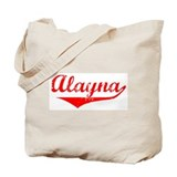 Alayna Vintage (Red) Tote Bag