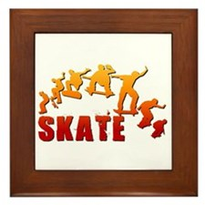 Skate Framed Tile
