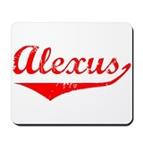 Alexus Vintage (Red) Mousepad