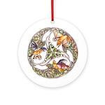 Fox & Grapes Ornament (Round)