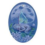 Luna Oval Ornament