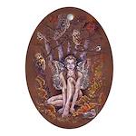 Wood Elf Oval Ornament