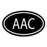 AAC Oval Decal