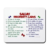 Saluki Property Laws 2 Mousepad