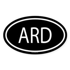 ARD Oval Decal