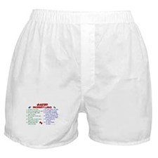 Mastiff Property Laws 2 Boxer Shorts