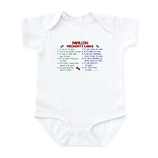 Papillon Property Laws 2 Infant Bodysuit