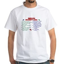 Papillon Property Laws 2 Shirt