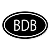 BDB Oval Decal