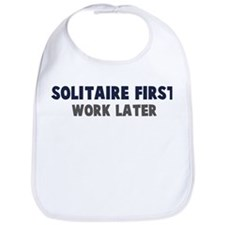 Solitaire First Bib