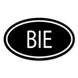 BIE Oval Decal