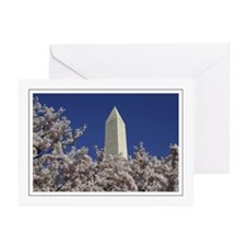 Washington Monument Greeting Cards (Pk of 10)
