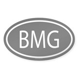 BMG Oval Decal