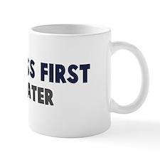 Cyclocross First Mug