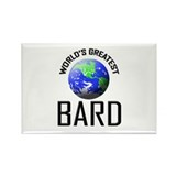 World's Greatest BARD Rectangle Magnet (10 pack)