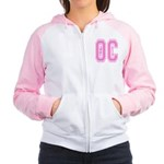 I Love The OC Women's Raglan Hoodie