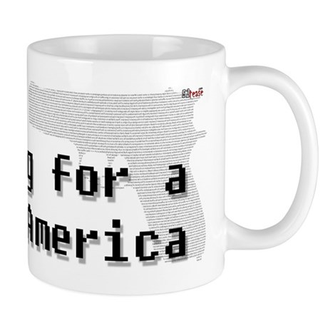 Blogging for a better America Mug