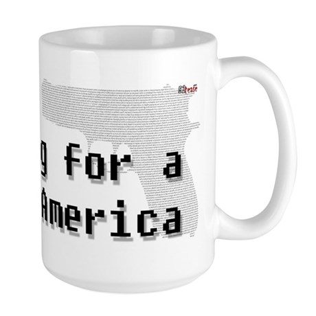 Blog for a better America Large Mug