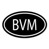 BVM Oval Decal
