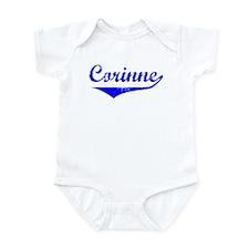 Corinne Vintage (Blue) Infant Bodysuit