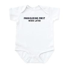 Paragliding First Infant Bodysuit