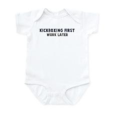 Kickboxing First Infant Bodysuit
